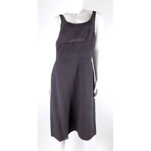 Narciso Rodriguez Gray Sheath Dress 100% Silk